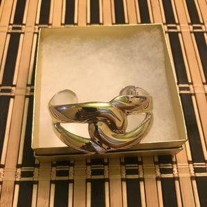 *SOLD*VTG Taxco Sterling Silver Modernist Bracelet